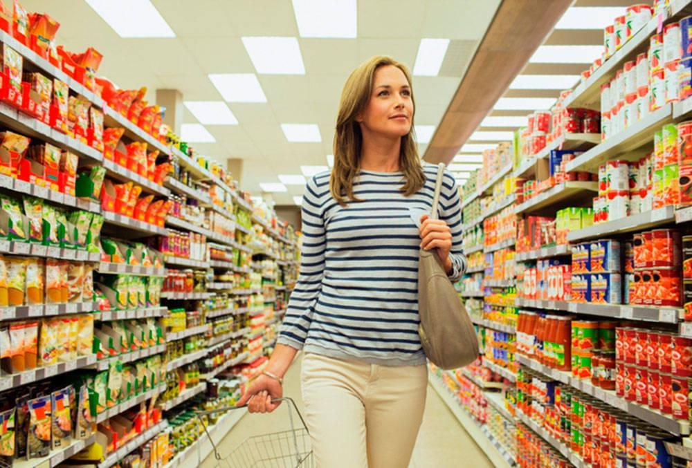 постарайтесь не совершать покупки когда голодны